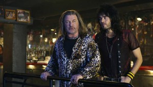 Alec Baldwin as Dennis Dupree and Russell Brand as Lonny Barnett