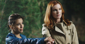 Gabrielle (Eva Langoria) and Bree (Marcia Cross)