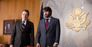 O&#039;Donnell (Cranston) and Tony Mendez at CIA Headquarters