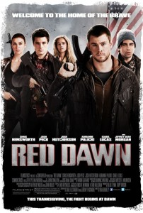 RED DAWN poster yahoo